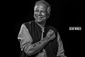 I will be meeting and presenting my vision to  the incredible, Nobel Peace Prize Winner - Muhammad-Yunus!!!!