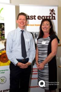 QSEC Chairman Steve Williams and Mrs Tarnya Smith MP – Assistant Minister for Child Safety