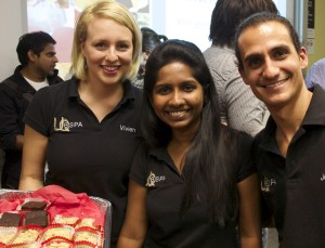 Viv, Bittu and Jose from the BSPA Exec Team