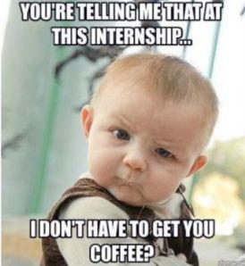 Benefits of an intern 2