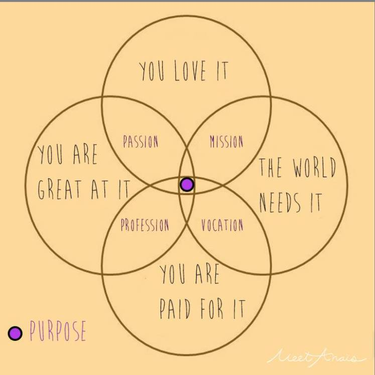 Our Favourite Venn Diagram of all time! Courtesy of https://www.facebook.com/MeetAnais