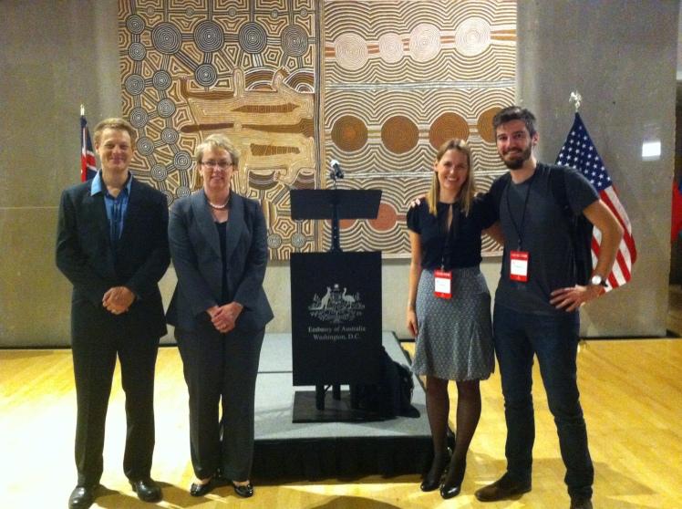 Startups Austraian Embassy DC