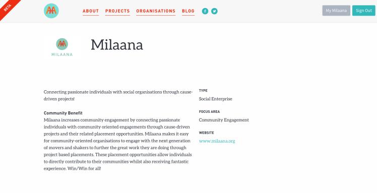 3: Org Profile Public